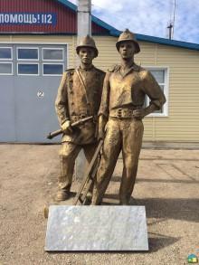 Скульптурная композиция «Пожарные России»