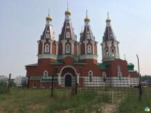 Храм в честь великомученика и целителя Пантелеимона